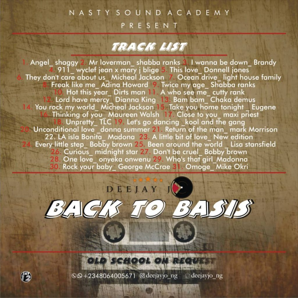 Back To Basics Mix || Thebase.com.ng