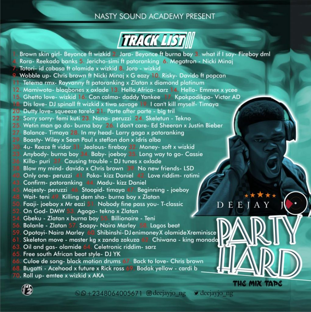 Party Hard Mix || Thebase.com.ng