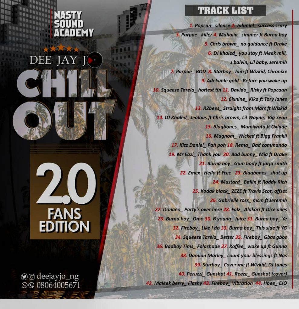 "Deejay Jo - ""Chill Out Mix"" 